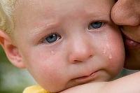 на лице у месячного ребенка появляются прыщики
